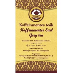 Koffeinmentes Earl Grey tea