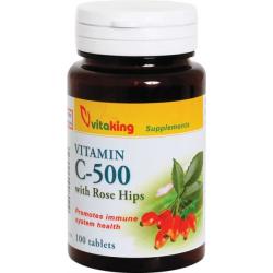 C- vitamin 500 mg (csipkebogyó)