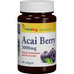 Acai Berry 3000mg (60) gélkapszula