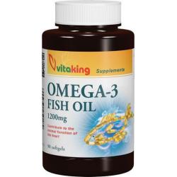 Omega-3 1200mg halolaj (90) gélkapszula