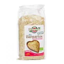Biorganik BIO barna rizs kerekszemű