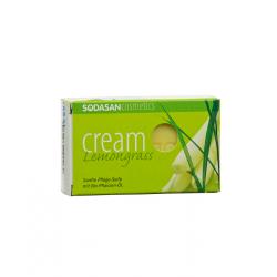 SODASAN BIO növényi szappan, citromfű 100g