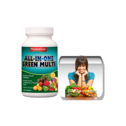 ALL-IN-ONE Green Multi-vitamin komplex tabletta 120 db