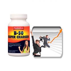 B-50 Supercharger B-vitamin komplex kapszula 100 db