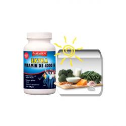 D3-vitamin 4000 NE (4000 IU) gélkapszula 350db