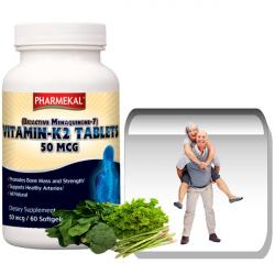 K2-vitamin MK-7 (Menaquinone-7) 50 mcg gélkapszula 60 db