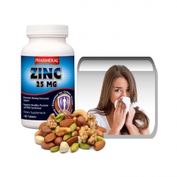 Cink 25 mg tabletta 100 db