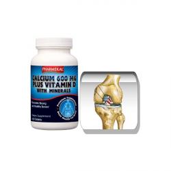 Kálcium 600 mg + D3 200 NE és ásványi-anyag komplex tabletta 100 db