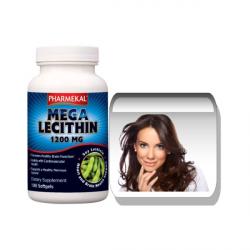 Mega Lecitin 1200 mg gélkapszula 100 db