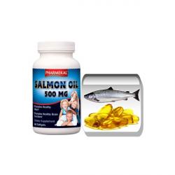 Szűz Lazacolaj (omega-3) 500 mg gélkapszula 60 db