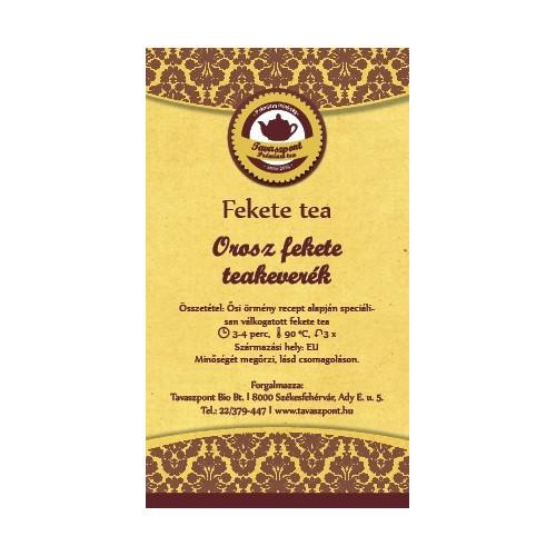Orosz fekete teakeverék