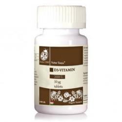 Natur Tanya D3-vitamin 2000NE tabletta 100db