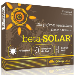 Olimp Labs BETA-SOLAR - 30 kapszula