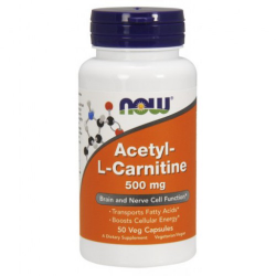 Acetyl-L Carnitine 500 mg - 50 Vcaps