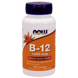 Vitamin B-12 (1000 mcg) with Folic Acid 250 Chewable Lozenges