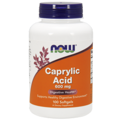 Caprylic Acid 600 mg - 100 kapszula