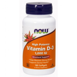 Vitamin D-3 1,000 IU 180 kapszula
