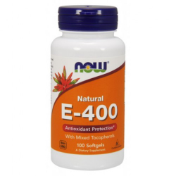 Vitamin E-400 IU MT 100 Softgels