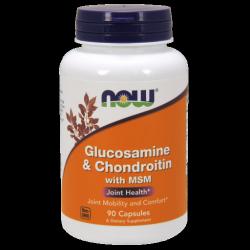 Glucosamine & Chondroitin with MSM - 90 kapszula