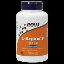 L-Arginine 500 mg - 100 kapszula