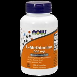L-Methionine 500 mg - 100 kapszula