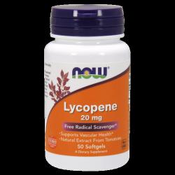 Lycopene  20 mg 50 Softgels