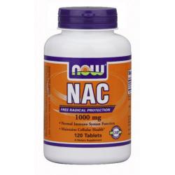 Now NAC N-Acetyl-Cysteine 1000 mg 120 tabletta