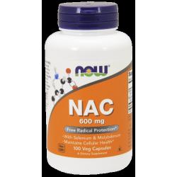 NAC 600 mg - 100 Veg kapszula