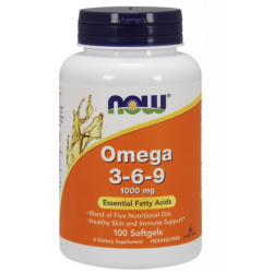 Omega 3-6-9 1000 mg-100 Softgels