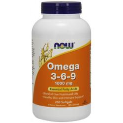 Omega 3-6-9 1000 mg-250 Softgels
