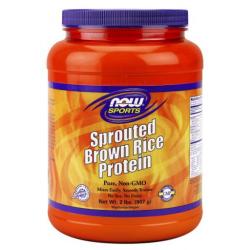 Csíráztatott barna rizs Protein 907g
