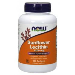 Napraforgó Lecitin 1200 mg napraforgó lecitin 100 lágyzselatin kapszula