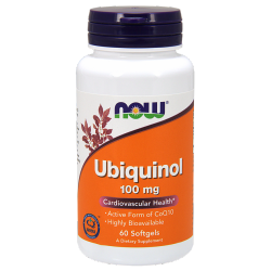 Ubiquinol 100 mg - 60 Softgels
