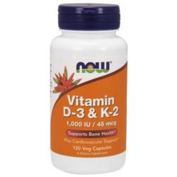 Vitamin D-3 & K-2 120 Veg kapszula