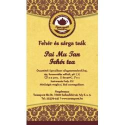 Pai Mu Tan / Fehér tea
