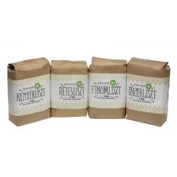 Bio búzaliszt - teljes kiőrlésű liszt 1kg