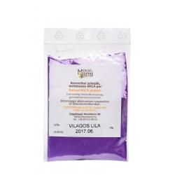 MICA ásványi színezék világos lila - 10 g