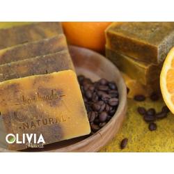 Olivia Kávé-narancs szappan 90g
