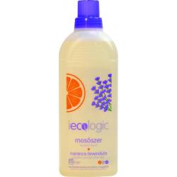 iecologic folyékony mosószer - narancs és levendula illattal 1L
