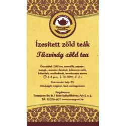Tűzvirág zöld tea