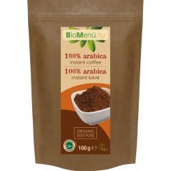 BioMenü bio valódi arabica instant kávé