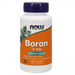 NOW Boron 3 mg - 100 Capsules