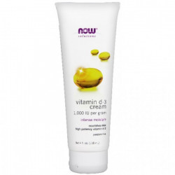NOW D-3 Cream - 4 fl. oz. (...