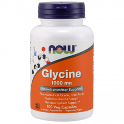 NOW Glycine 1000 mg - 100...