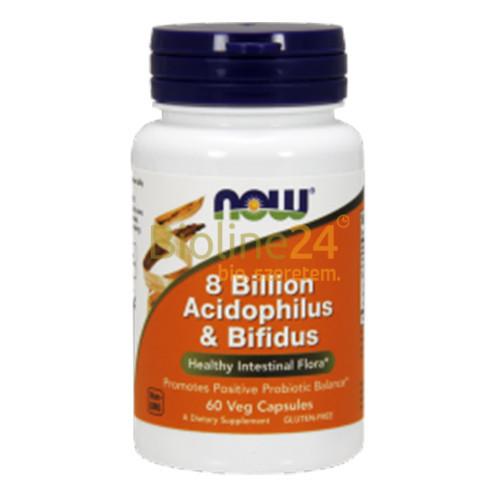 8 billion Acidophilus és Bifidus - 60 kapszula