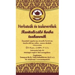 Revitalizáló herba teakeverék